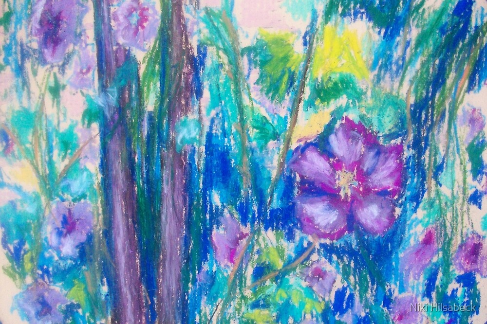 Pretty Wild (Pastel) by Niki Hilsabeck