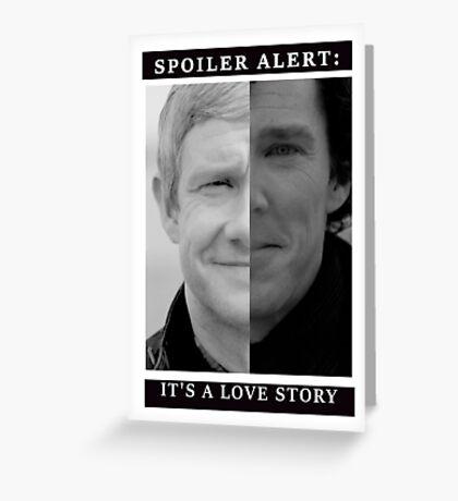 JOHNLOCK | Love Story Greeting Card