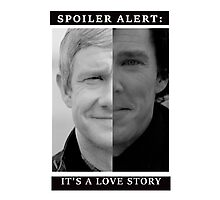 JOHNLOCK | Love Story Photographic Print
