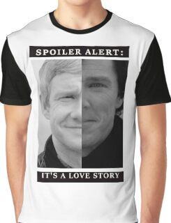 JOHNLOCK | Love Story Graphic T-Shirt