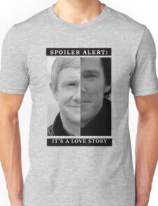 JOHNLOCK | Love Story Unisex T-Shirt