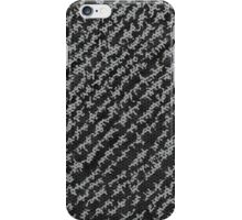 Modern Black White Popular Trendy Abstract Pattern iPhone Case/Skin