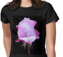 Lilic Rosebud Womens Fitted T-Shirt