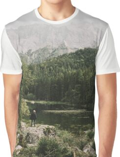In Silence - Landscape Photography Graphic T-Shirt