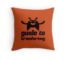 Guide to Brainfarting Throw Pillow