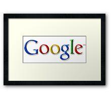 Google Logo Framed Print