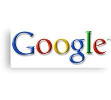 Google Logo Canvas Print
