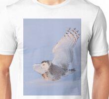Touchdown - Snowy Owl Unisex T-Shirt