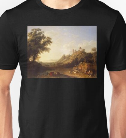 Jacob Philipp Hackert Landscape Unisex T-Shirt