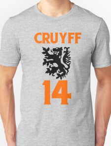 70's football gods #2.1 Johan Cruyff. T-Shirt