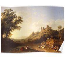 Jacob Philipp Hackert Landscape Poster