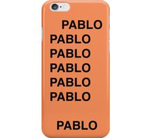 PABLO iPhone Case/Skin