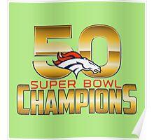 Best super bowl 50 2016 Poster