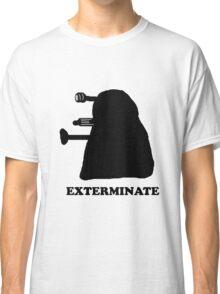 EXTERMINATE DALEK IN THE SHADOWS Classic T-Shirt