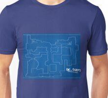 Cs:go - Dust 2 Blueprint Unisex T-Shirt