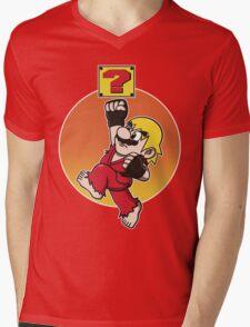 MARIOMASTERS Mens V-Neck T-Shirt