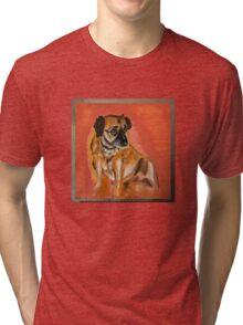 """""""Sassy"""" Oil Painting by Jon Denby  Tri-blend T-Shirt"""