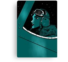 aviatrix Canvas Print
