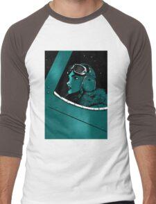 aviatrix Men's Baseball ¾ T-Shirt