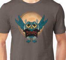 Rock-n-Roll Owl Unisex T-Shirt