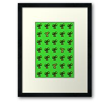 Pokemon Trees Framed Print