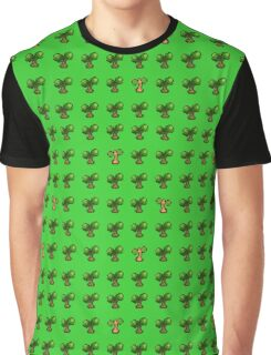 Pokemon Trees Graphic T-Shirt