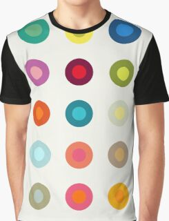 Vintage and colourful circles Graphic T-Shirt