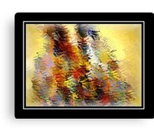 From The Painting Easel #4 Canvas Print