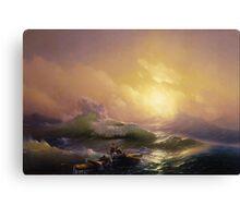 The Ninth Wave - Ivan Aivazovsky Canvas Print