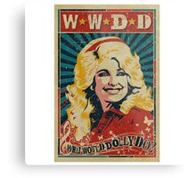 Dolly Parton Artwork Metal Print