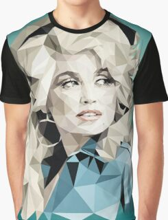 Dolly Parton Pixel Art Graphic T-Shirt