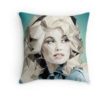 Dolly Parton Pixel Art Throw Pillow