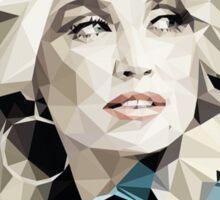 Dolly Parton Pixel Art Sticker