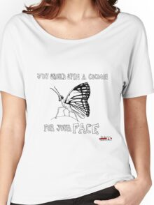 Animals Are Mean: Butterfly Women's Relaxed Fit T-Shirt