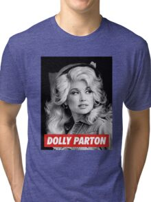 dolly parton gifts Tri-blend T-Shirt
