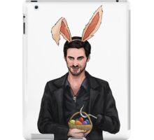 Easter Bunny Hook iPad Case/Skin