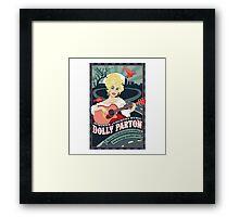 The Dolly Patron Art Framed Print