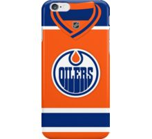 Edmonton Oilers Alternate Jersey iPhone Case/Skin
