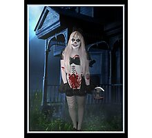 Cute Killer Clown Photographic Print