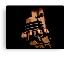 Doctor Who - Destiny of The Daleks Canvas Print