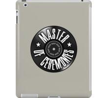 Master Of Ceremonies iPad Case/Skin