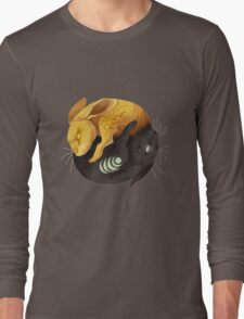 Watership down - fantasy rabbit design Long Sleeve T-Shirt