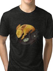 Watership down - fantasy rabbit design Tri-blend T-Shirt