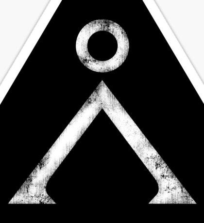 Stargate Grunge Sticker