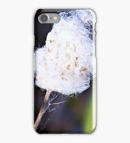 Milkweed Fluff  iPhone Case/Skin