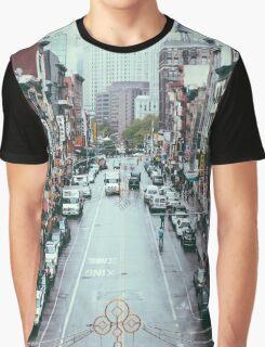 NYC Chinatown Graphic T-Shirt