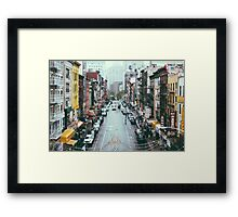 NYC Chinatown Framed Print