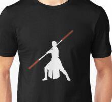 Star Wars - Rey red lightsaber (white) Unisex T-Shirt