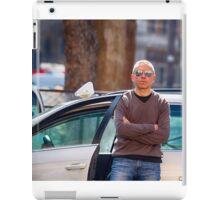 Roman taxidriver iPad Case/Skin