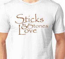 Sticks & Stones Love Unisex T-Shirt